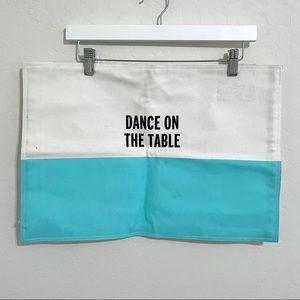 """Kate Spade Place Mat """"Dance On The Table"""""""